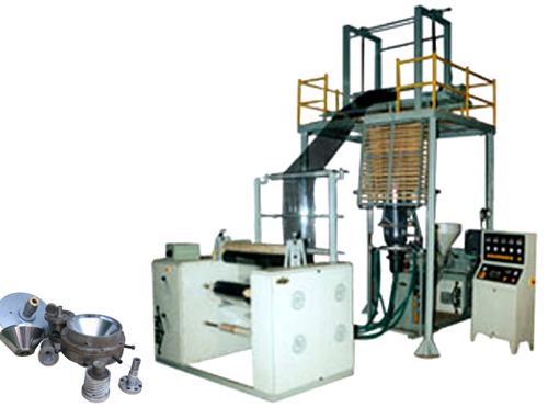 Blown film plant, Compact blown film plants manufacturers, Compact blown film plants exporters